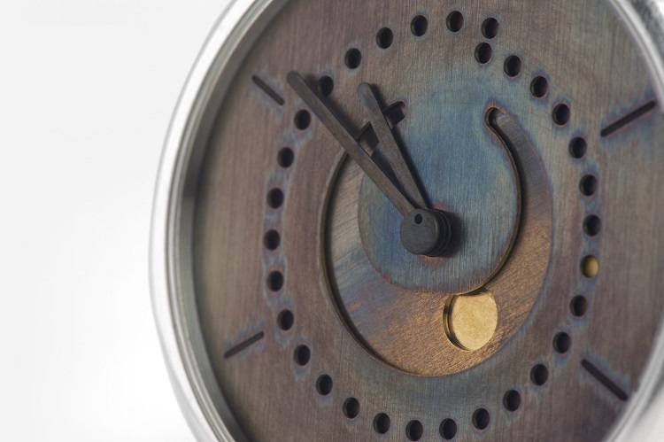 The deceptive moon phase blue patina