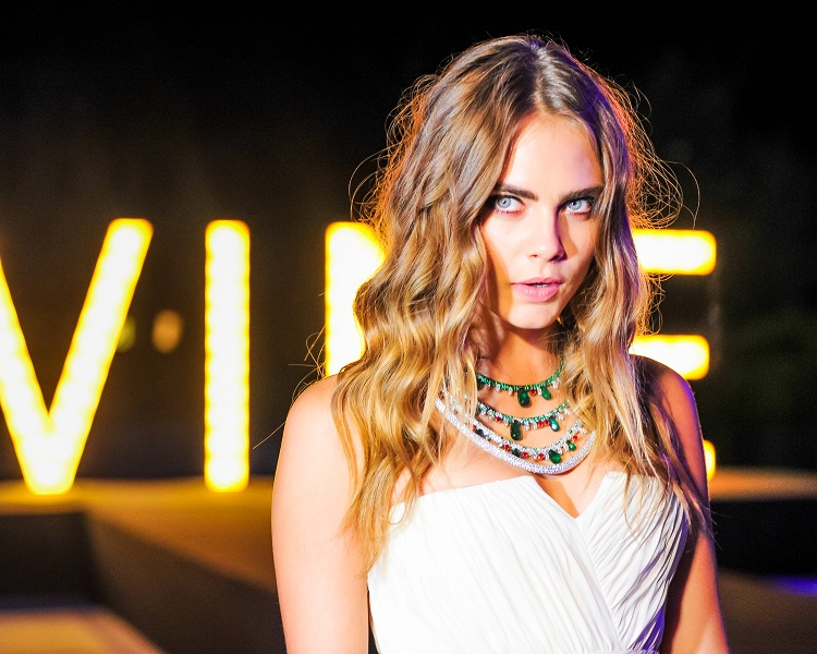 "Cara Delevingne at the de Grisogono ""Divine in Cannes"" party"