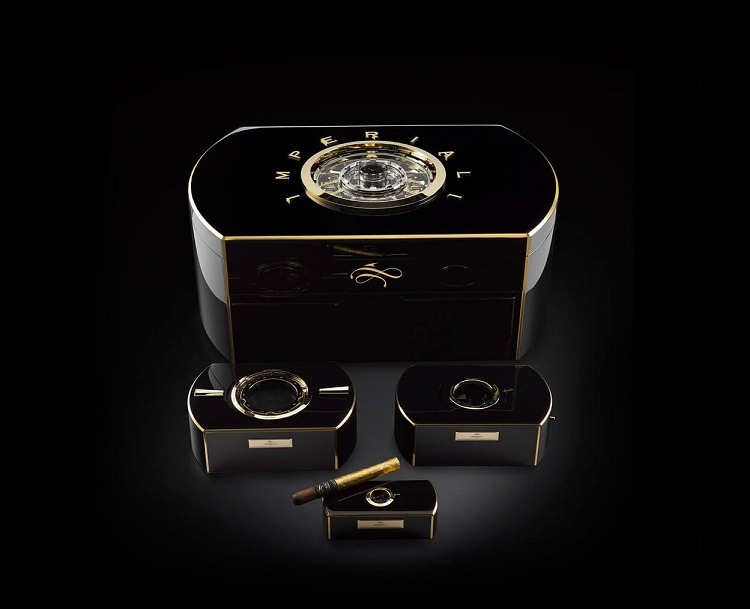 Fit for an emperor: the Emperador cigar chest