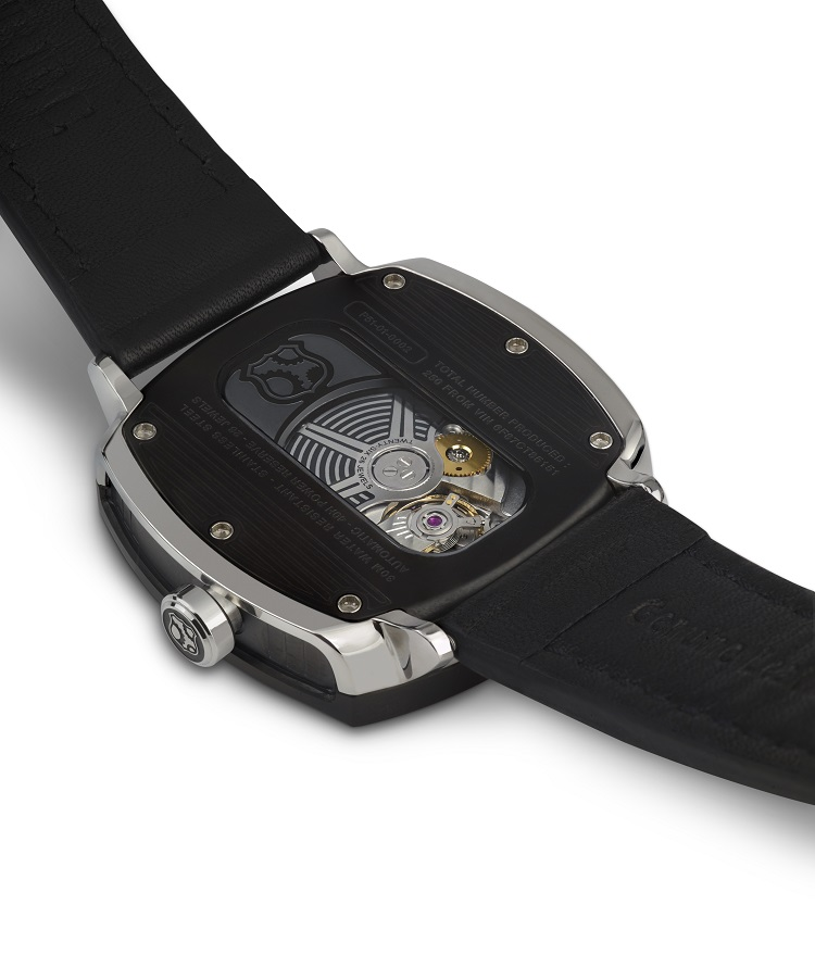 The REC P-51, a solid watch with a solid cause