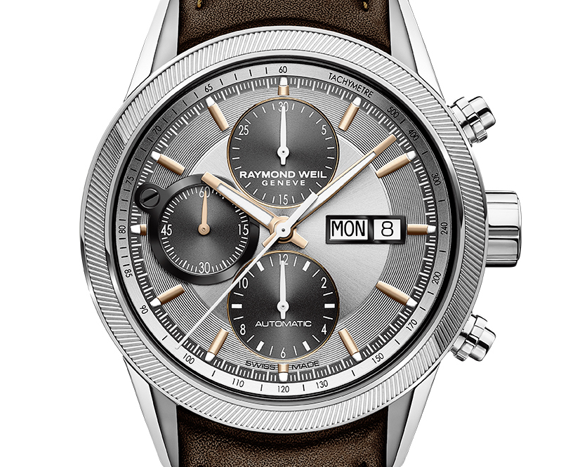 Raymond Weil redesigns its emblematic Freelancer chronograph