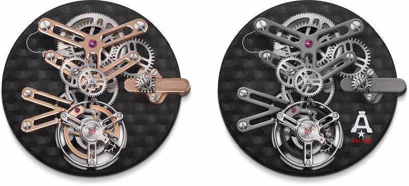 Angelus, and how to structure a skeleton tourbillon