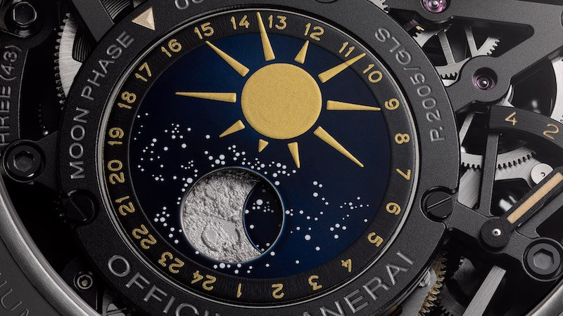 Panerai L'Astronomo Luminor 1950 Tourbillon Moon Phase