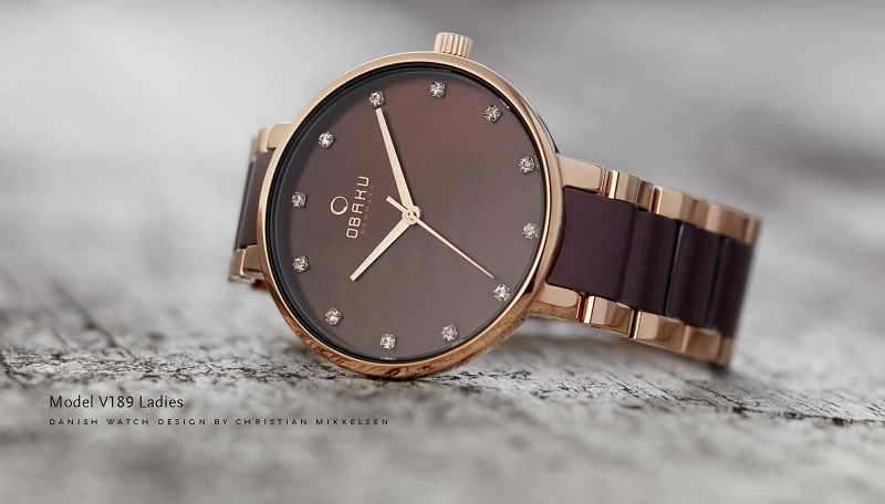 Think link: introducing the new V189 bracelet watch by Obaku