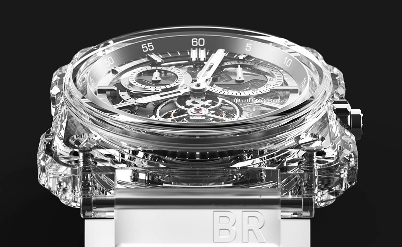 Bell & Ross goes bling with a new BR-X1 model made of sapphire