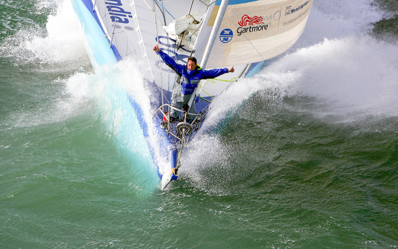 Delma sets sail with record-holder Nick Moloney