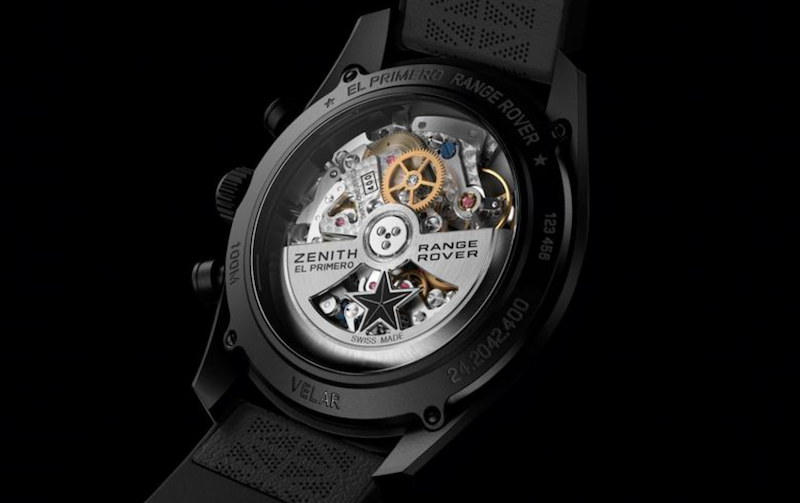 Zenith partners with Land Rover for special edition Chronomaster El Primero