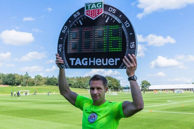 TAG Heuer blows whistle on Premier League football