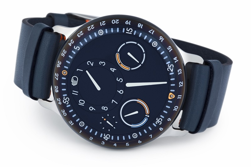 The Ressence Type 3, slick as oil