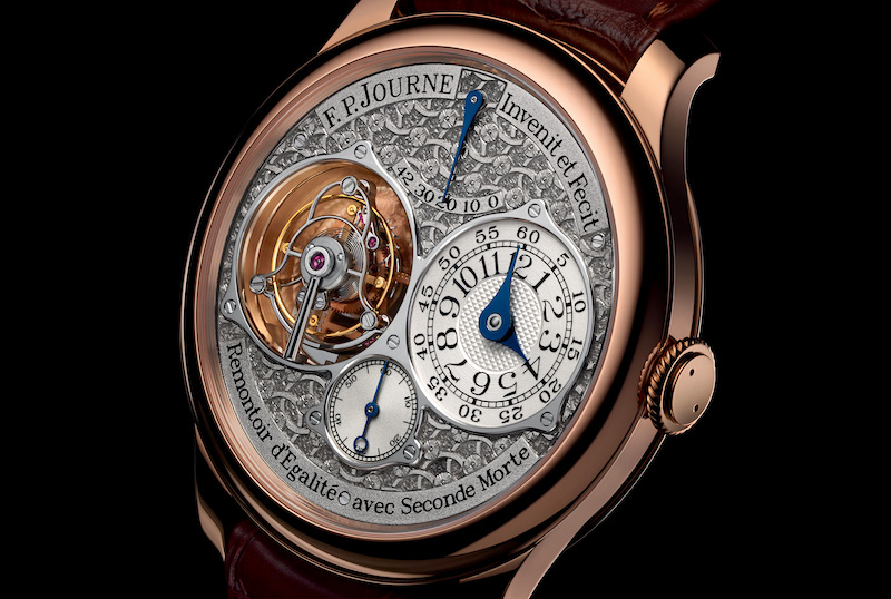 Tourbillon Souverain with hand-engraved dial