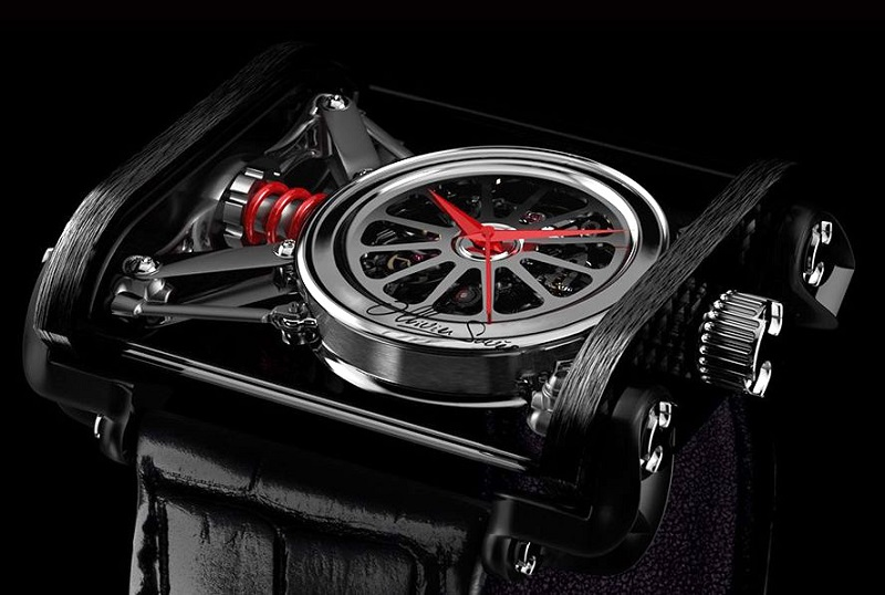 Ollivier Savelli's new watch brand is all about speed, oil, and butterfies