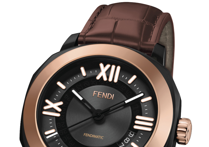 Fendi introduces new Selleria Man timepieces