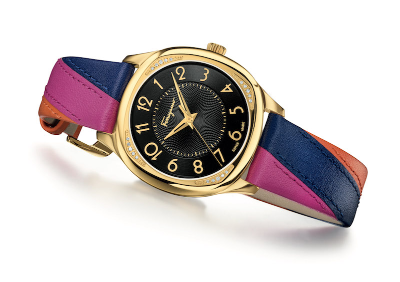 A closer look at the Ferragamo Time Lady collection