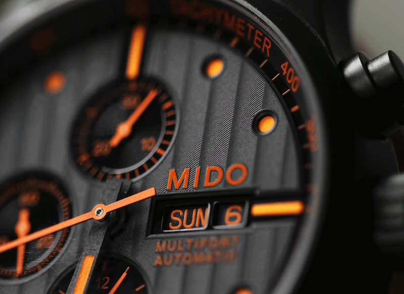 Mido - Introducing the Multifort Special Edition Orange Chronograph