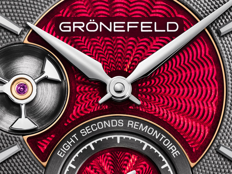 How to make an award-winning watch better? Grönefeld figured it out