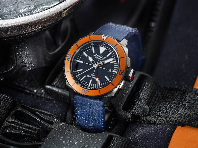 The Seastrong Diver in iconic orange bezel