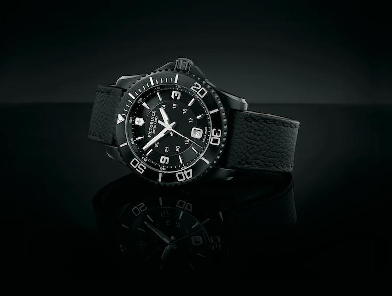 Introducing the Maverick Black collection by Victorinox