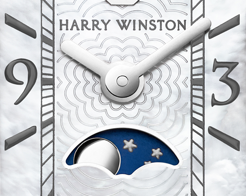 Size isn't everything with the Harry Winston Avenue C Mini Moon Phase