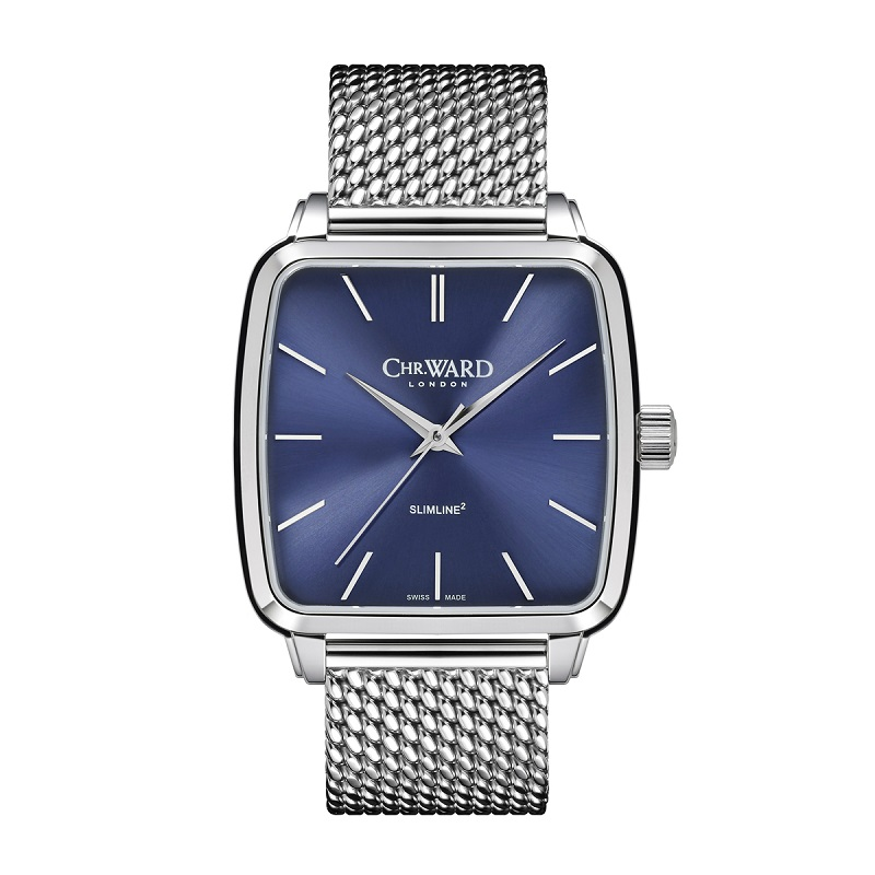 Christopher Ward shows that it's hip to be square!