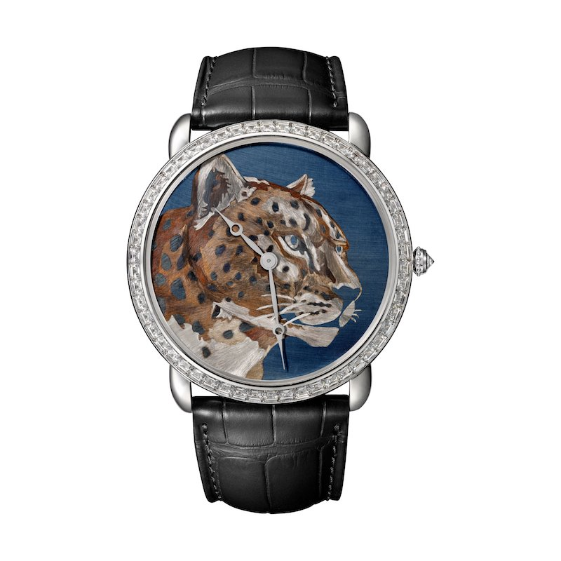 Cartier watches ablaze with animal colours