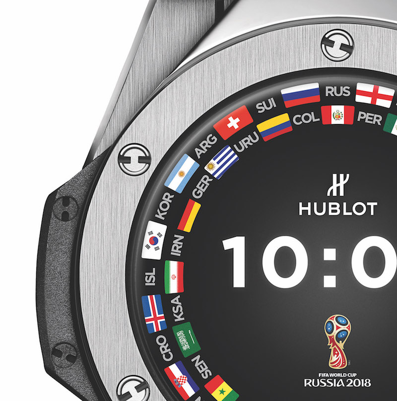 Hublot's latest connected watch is based on the Big Bang