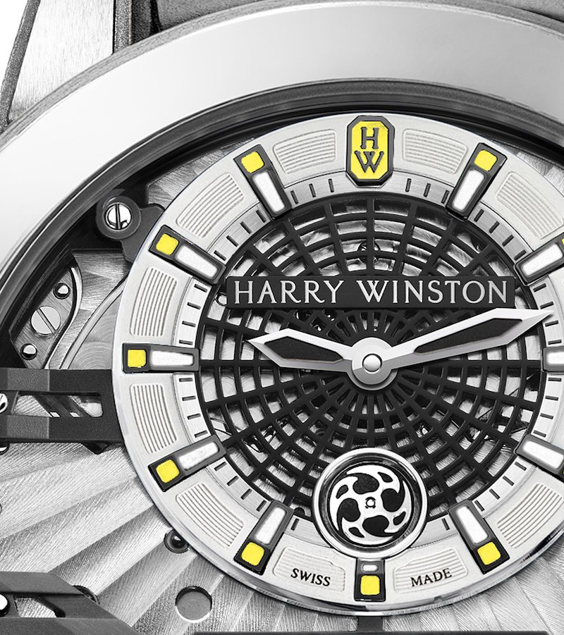 Up for auction: the Harry Winston Ocean Big Date Only Watch