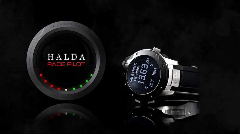 Halda's Race Pilot Trackmaster, a 2-in-1 timepiece
