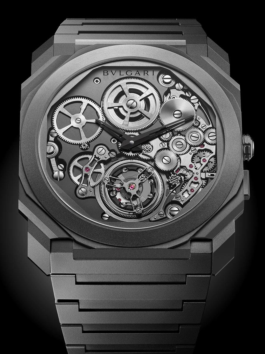 OCTO FINISSIMO TOURBILLON AUTOMATIQUE by Bulgari