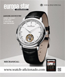 EUROPA STAR WATCH-AFICIONADO AUGUST - SEPTEMBER 2014