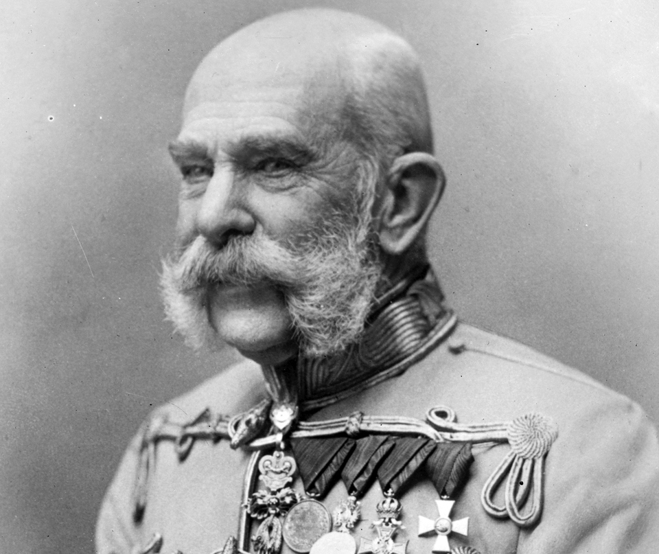 The Austrian Emperor Franz Joseph was one of Carl Suchy & Söhne's clients...
